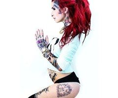 Caroline Grace Winkler ♥ #Sexy #Beautiful #Model #Tattoo #Wallpaper #BodyArts ♥ FoLL0W mE @ #ProvenAsTheBest ♥