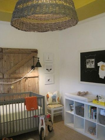 140 best painted ceilings images on pinterest for Elle decor nursery