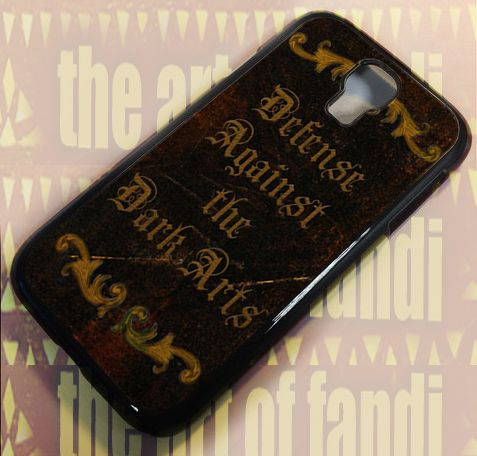 Harry Potter inspired Advanced For Samsung Galaxy S4 Black Rubber Case