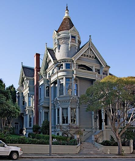 1000+ Images About QUEEN ANNE MANSIONS On Pinterest
