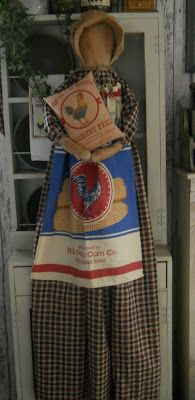 The Olde Country Cupboard: A couple of Vacuum cover dolls ready
