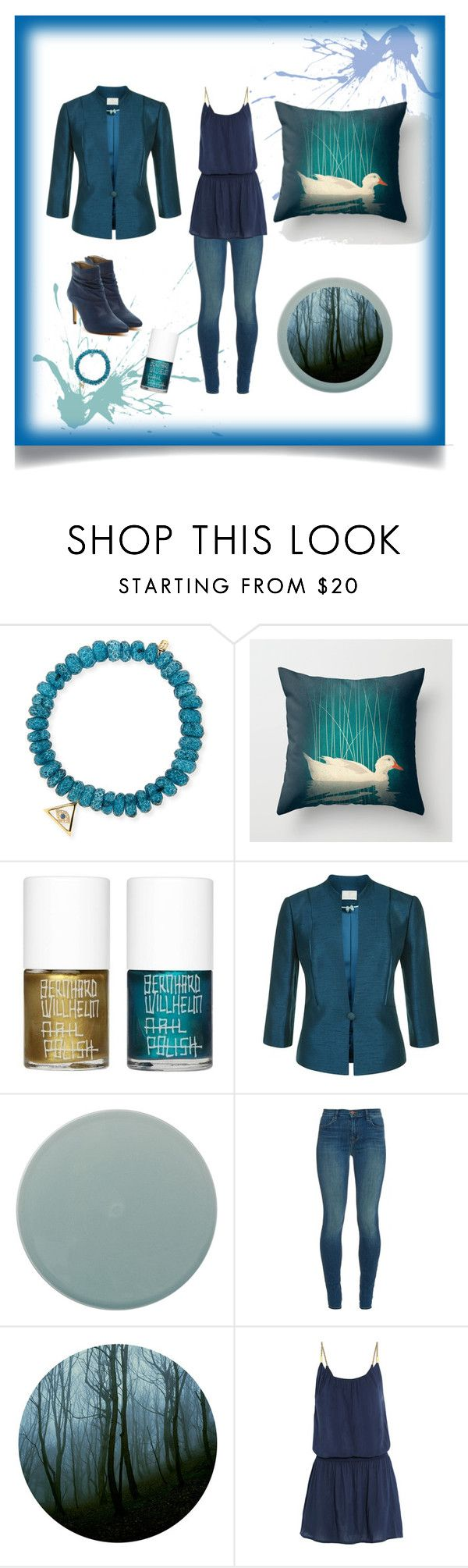 Biscay Bay & Reflecting Pond by feelseelive on Polyvore featuring Heidi Klein, Jacques Vert, J Brand, Michael Antonio, Sydney Evan, Uslu Airlines and Menu:
