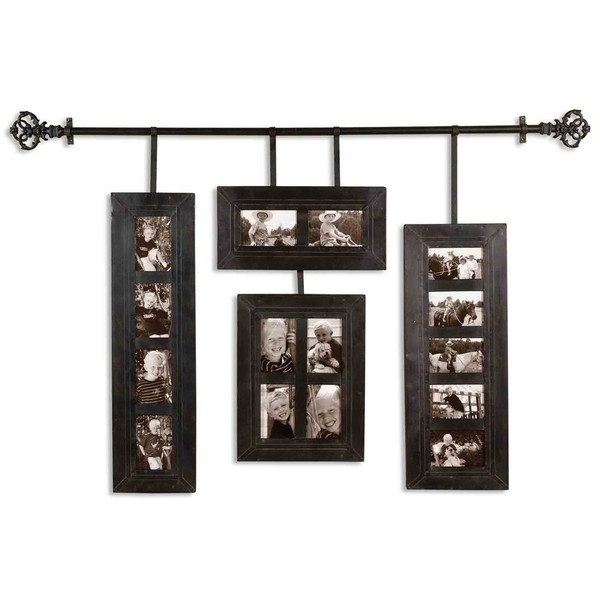 Uttermost 13408 Hanging Photo Frames Metal Picture Frame Aged Black