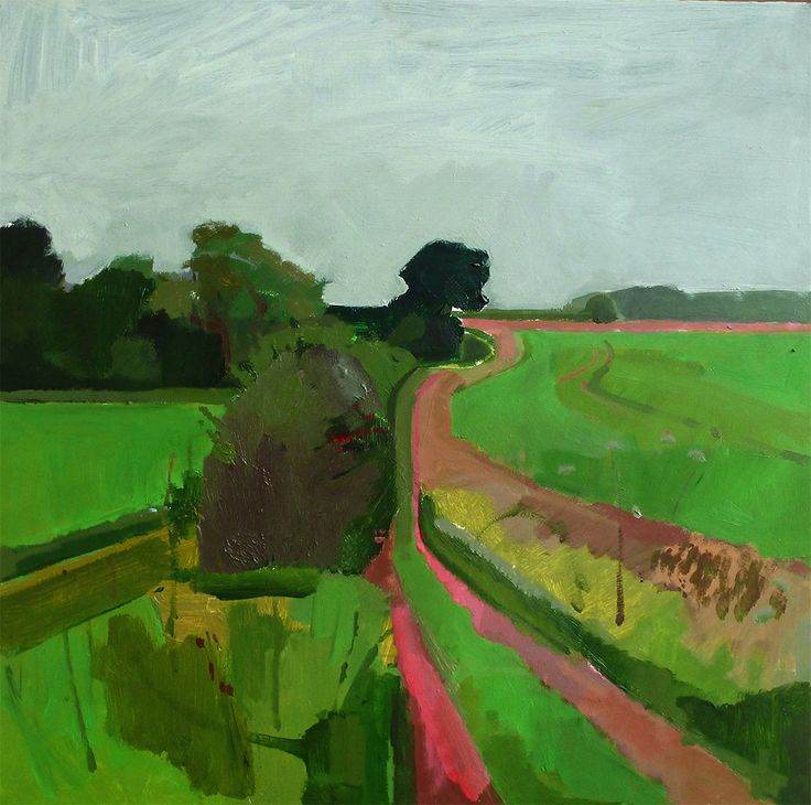 Suffolk on a grey September morning by Fred Ingrams
