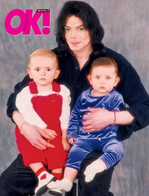 Michael Jackson, Paris Jackson and Prince Jackson