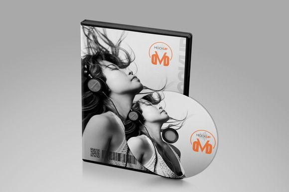 DVD Mockup by Vecto Designs on Creative Market