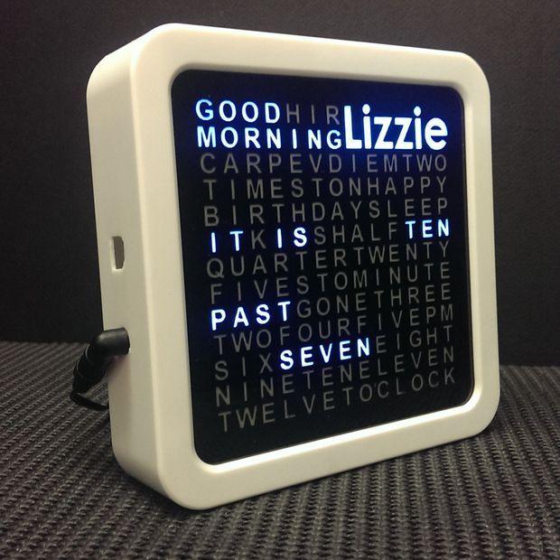 Arduino Personalised Word Clock