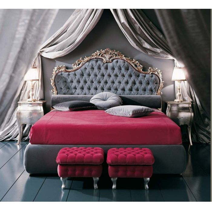French rococo furniture reproductions rococo bed for French baroque bed