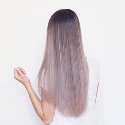 Love the lavender tones of this hairstyle Pinterest // EllDuclos