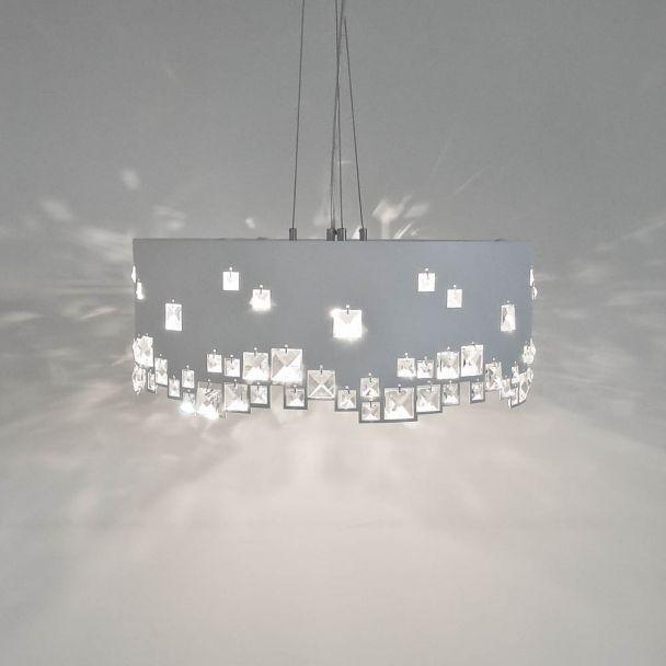 Plafonnier pour chambre adulte plafonnier cran ronda blanc en aluminium et acrylique with for Plafonnier design pour chambre