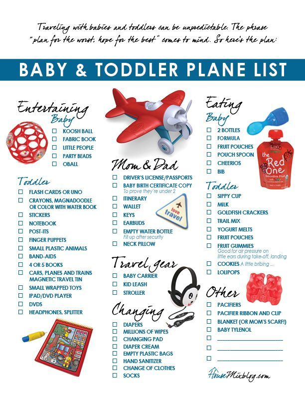 #Traveling with your kids for the holidays or on #vacation? Ensure you have what you need for a smoother #plane ride.