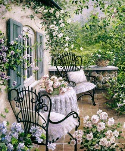 Fairytale-like cottage beauty