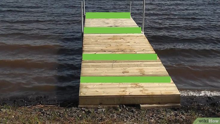 How to build a dock 13 steps with pictures wikihow