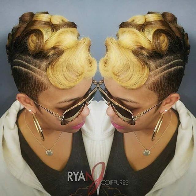"264 Likes, 6 Comments - bobbie&moonsgirl (@ilovemyshorthair) on Instagram: ""Hairstylist Ryan✂#ilovemyshorthair™ #hairbyryan"""