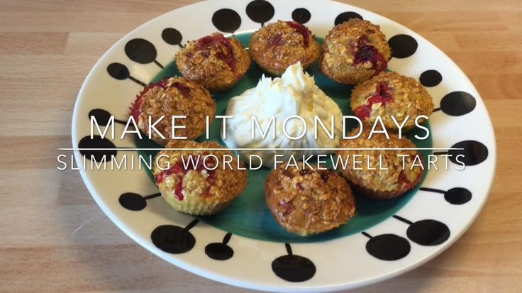 Slimming World Fakewell Tarts | Make It Monday's