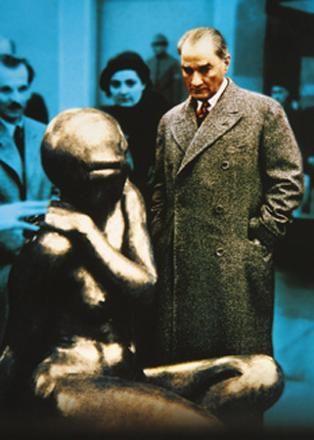 Atatürk'ün az bilinen fotoğrafları...