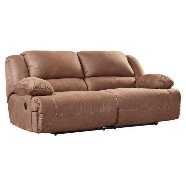 Jimenes Two Seat Reclining Sofa Large Oversized Couches ม ร ปภาพ