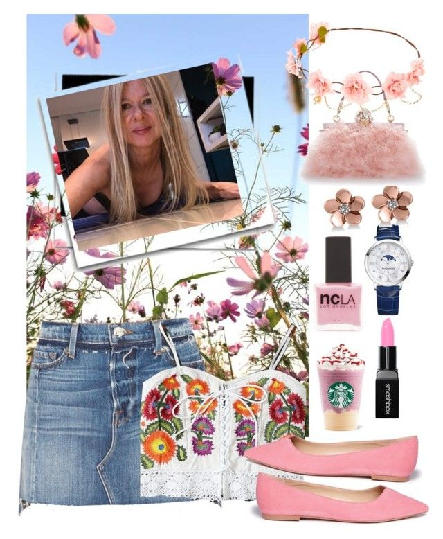 Adorable ME by silvia-viotti on Polyvore featuring polyvore, fashion, style, Frame, Sam Edelman, Dolce&Gabbana, Baume & Mercier, Allurez, Smashbox, ncLA and clothing