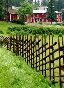 Scandinavian (roundpole) fence                                                                                                                                                     More