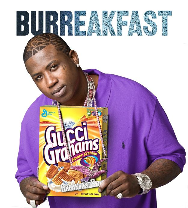 Gucci Mane for Gucci Grahams™ | 16 Cereal Brands If They Were Sponsored By Rappers