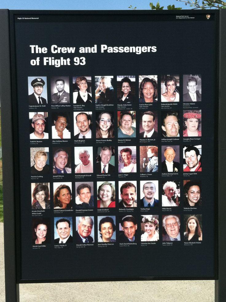 Flight 93 Memorial. Shanksville, PA 9/11/01 Tom, Jeremy, Cece, Todd & the…