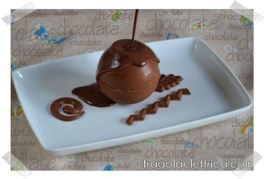 CHOCOLATE BALL fragolaelettrica.com Le ricette di Ennio Zaccariello #Ricetta