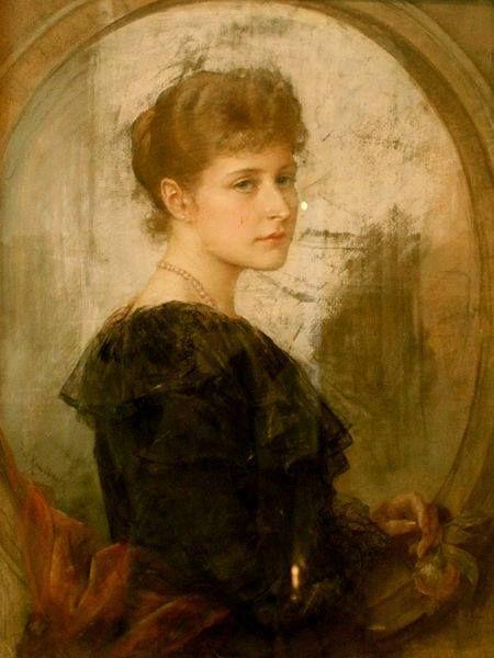 Empress Alexandra Fyodorovna of Russia .
