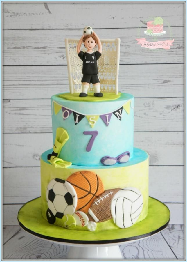 Sports Balls! by Jo Finlayson (Jo Takes the Cake)
