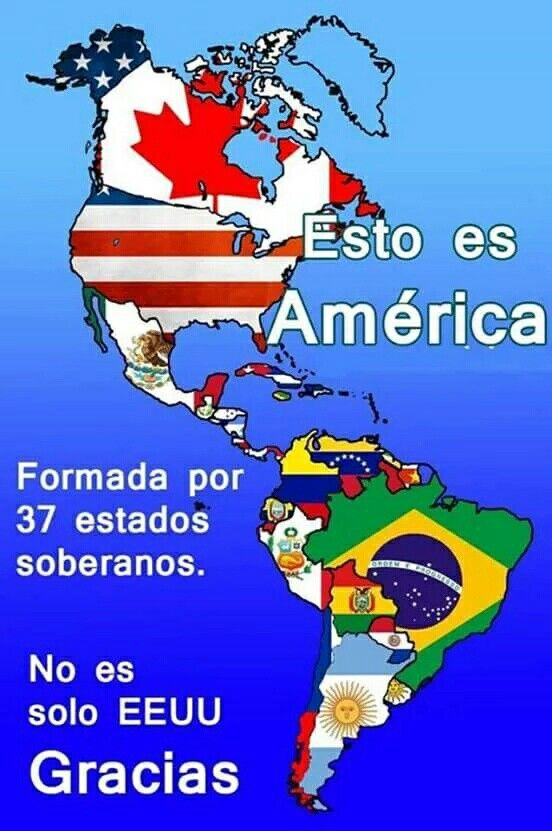17 Best images about AMERICA IS A CONTINENT NOT A COUNTRY ...