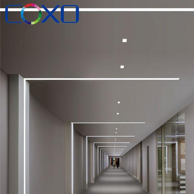 Wholesale Top Quality Recessed Extrusion Led Aluminium Profile For Led Strip Lights Bar From M Alibaba Com Dizajn Sveta Stroitelstvo Doma Dizajn