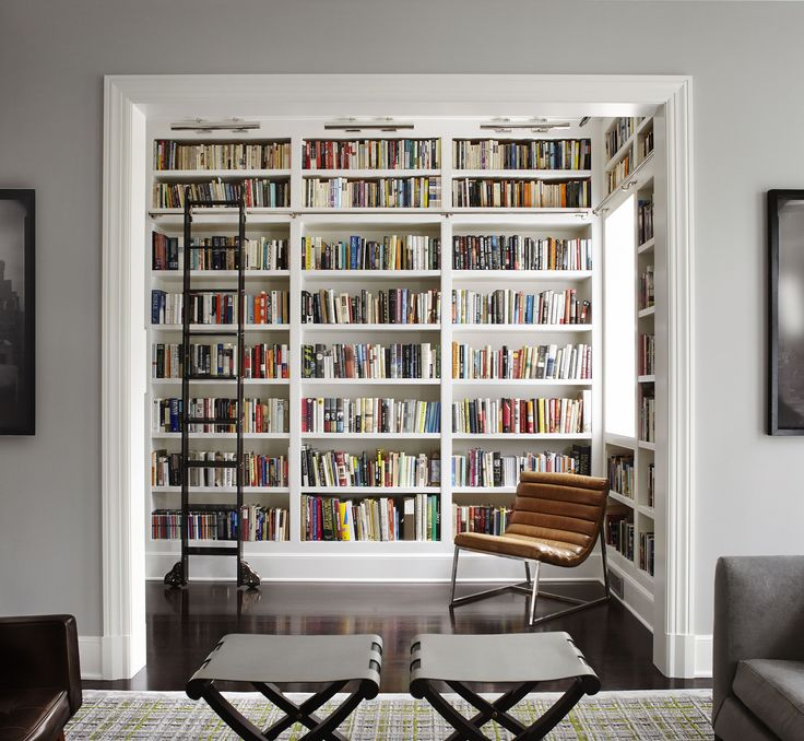 35 stunning home libraries for the perfect quiet moment - Home Library Design Ideas