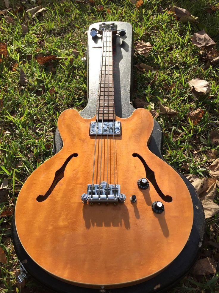 Epiphone Rivoli Bass Blonde | eBay