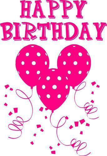 4 feliz cumpleaños palabras gráfico png clip arte partido