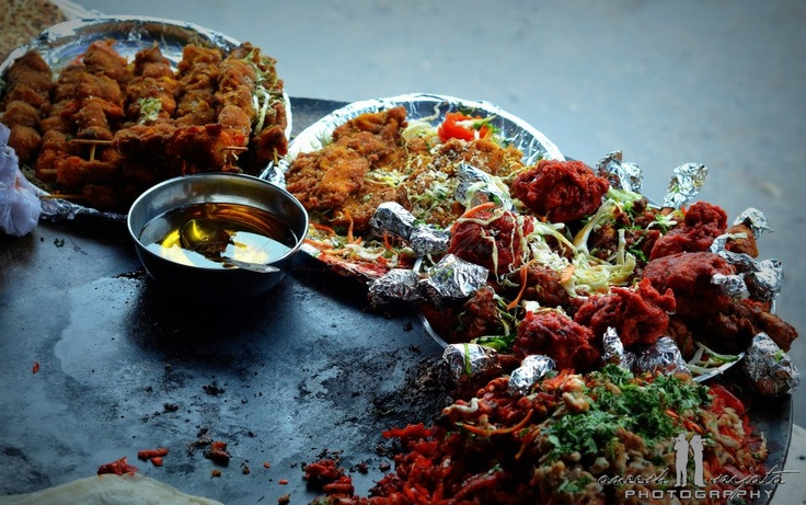 I am a street food lover, and when I saw these laid out somewhere in Russell Market, clicked them (and enjoyed them!)