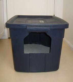 For cats the pee over the side of the litterbox ... a fix that only costs about $6 instead of 60!