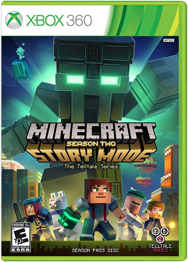 Minecraft Story Mode Season 2 Xbox 360 Standard Edition