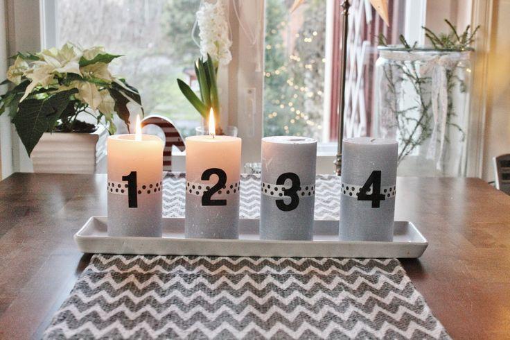 Livets fina stunder: Årets adventsljusstake