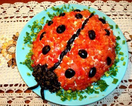 Salata Süsleme