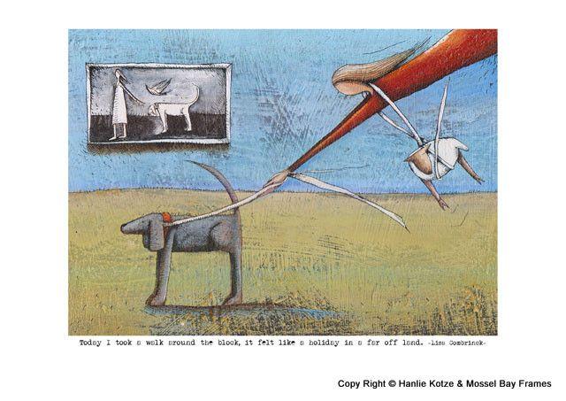 Hanlie Kotze Prints - Available : HK13007 TROU TOT BY DIE WOLKE