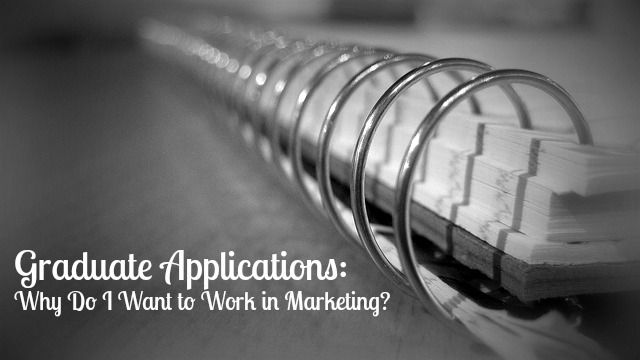 Everyone Wants To Smile: Marketing Graduate Applications