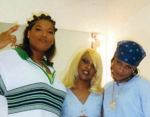90shiphopraprnb:  Queen Latifah, Lil' Kim & Da Brat
