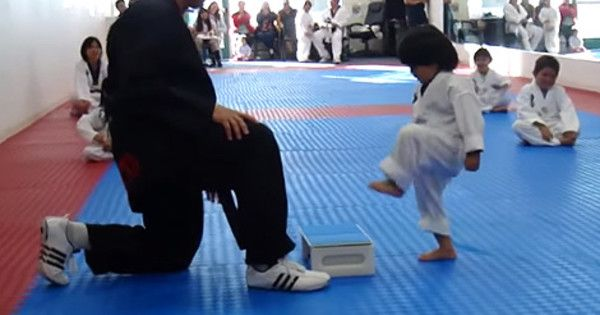 This Little Boy Trying To Break A Board In Taekwondo Class Is Officially The Cutest Ever