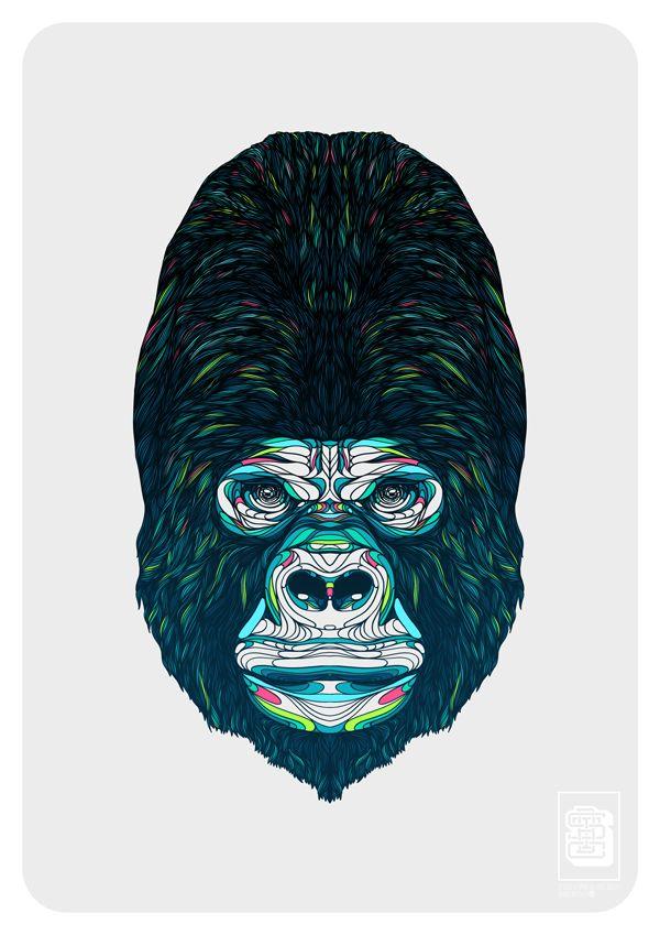 Gorilla. on Behance