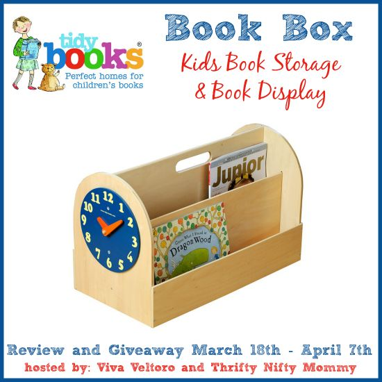 Tidy Books Kid's Book Box Review and #Giveaway!