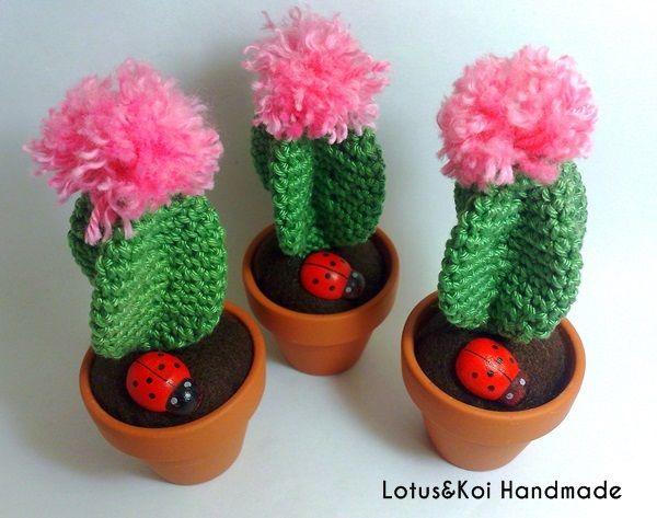 Amigurumi Cactus Crochet Pattern : 178 best crochet cactus images on pinterest crochet cactus