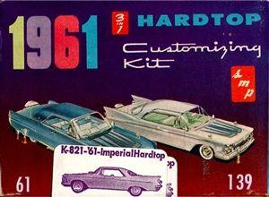 1961 Chrysler Imperial SMP Hardtop (3 'n 1) Stock, Custom or Prestige (1/25) MINT | Stuff the Wife should buy me