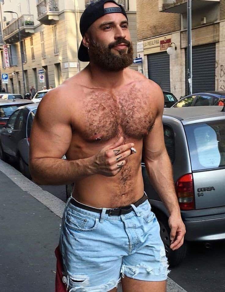 Male hairy man