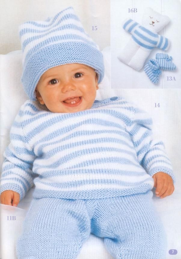 Patons 5000 A Complete Wardrobe of handknits for Baby ...