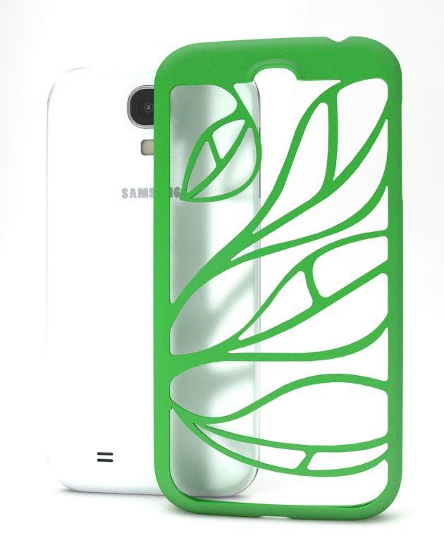 LEAF case pre Samsung Galaxy S4