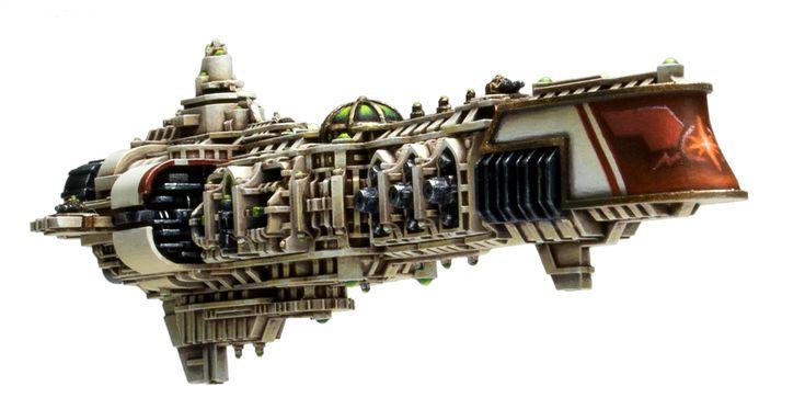 Imperial Battlegroup Helios - Helian Dreadnought.